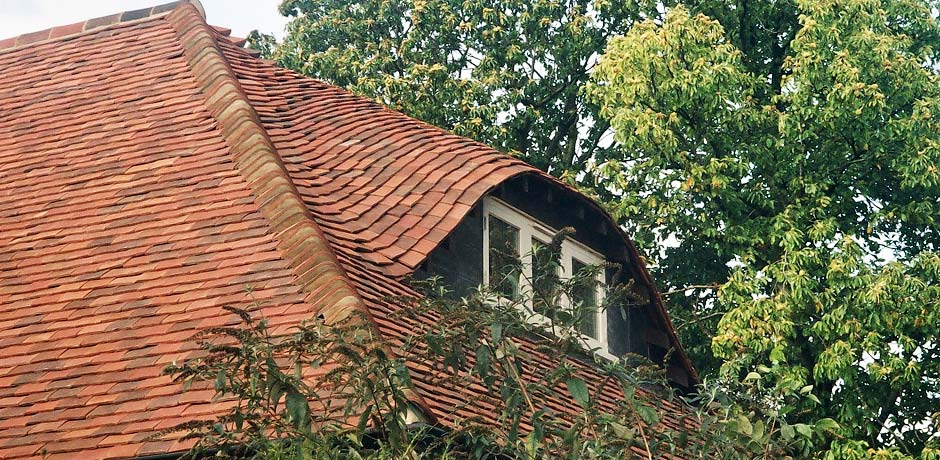 handmade clay roof multi