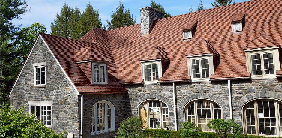 handmade clay roof tiles USA