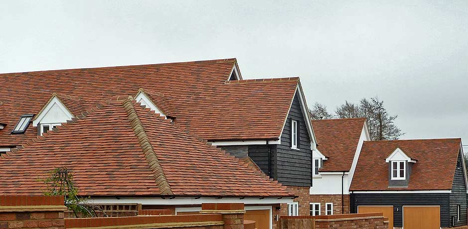 Brookhurst handmade clay roof tiles